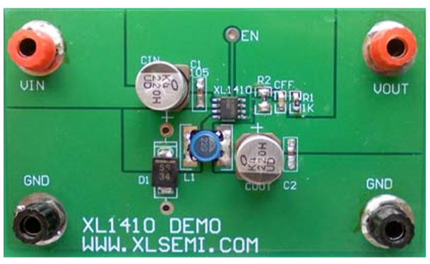 XL1410DEMO BOARD MANUAL