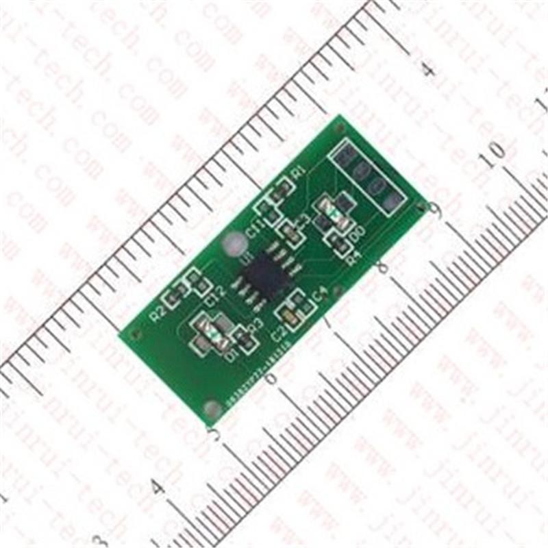 JRM1417-2键1对1低电平输出防水超强抗干扰触摸感应模块