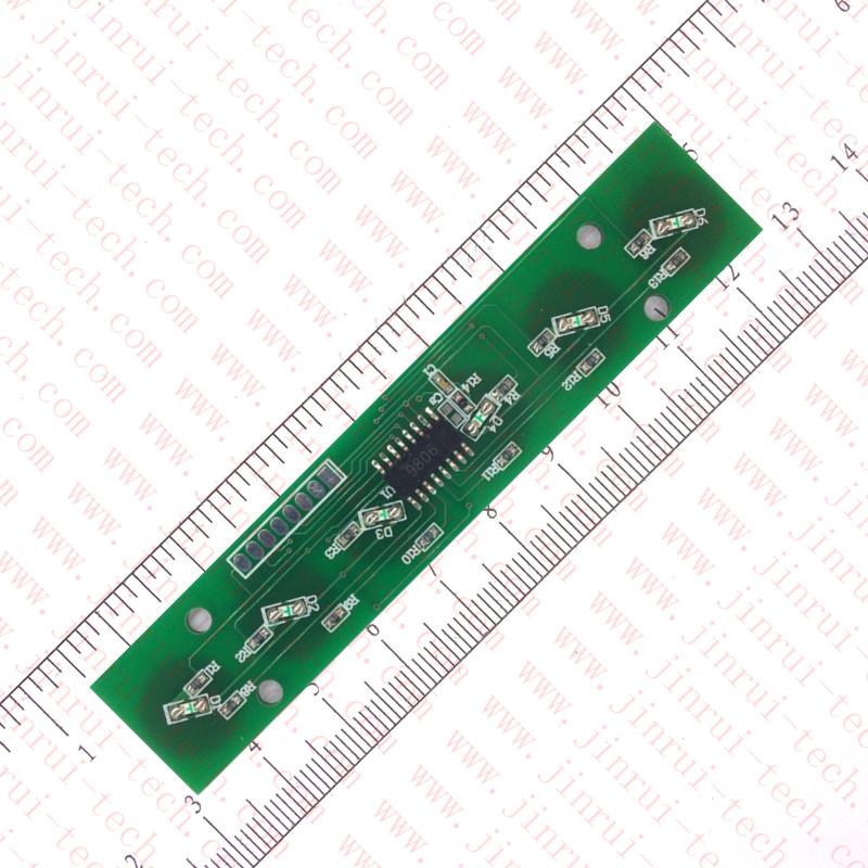 6键1对1低电平输出抗干扰触摸感应模块--JRM1419