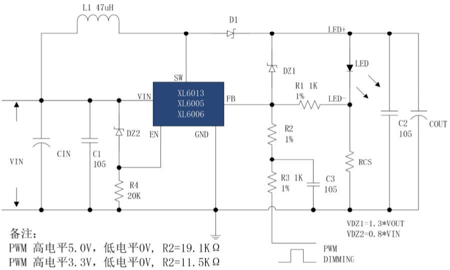 XLSEMI 恒流 LED 产品 PWM 调光方案简介图7.png