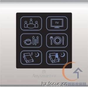 JR3027_触摸智能家居墙体开关,触摸ic,触摸按键,触摸开关