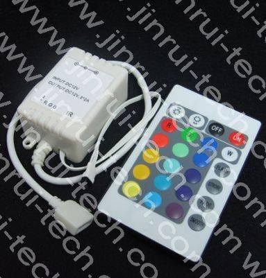 JR9894 24键灯条控制器IC,RGB灯条IC,RGB灯条变色IC,RGB遥控灯条IC