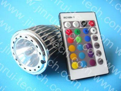 JR9895 24键红外遥控灯杯调光,E27调光,E27遥控调光,GU10调光