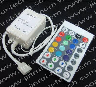 JR9893 28键红外遥控全彩调光IC,RGB全彩情趣灯ic,RGB情趣灯遥控IC