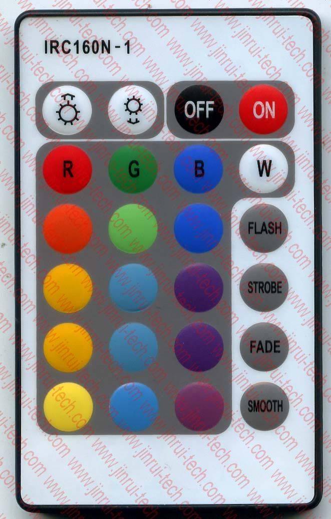 JRM015_灯控遥控器、LED遥控器、RGB遥控器、调光遥控器、红外遥控器