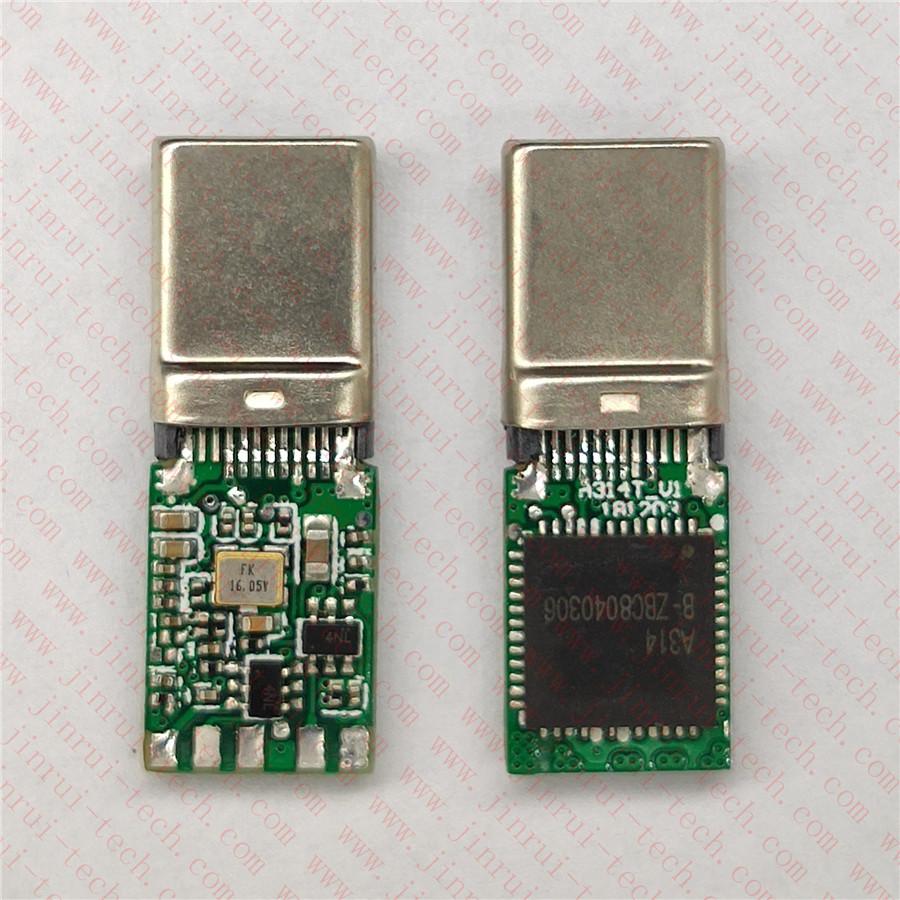 A314----Type C手机数字音频解码耳机方案