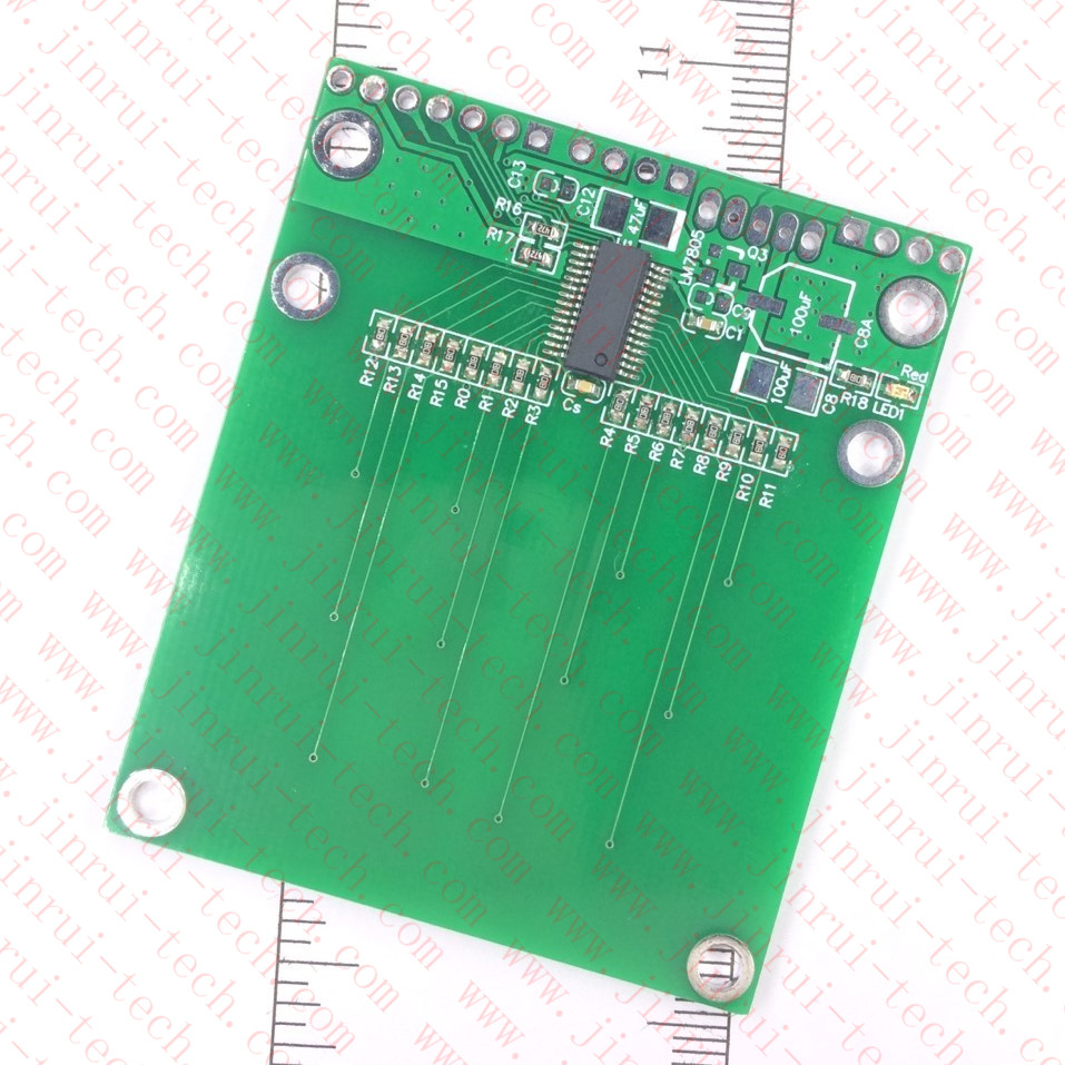 16键触摸感应按键模块--JRM1421