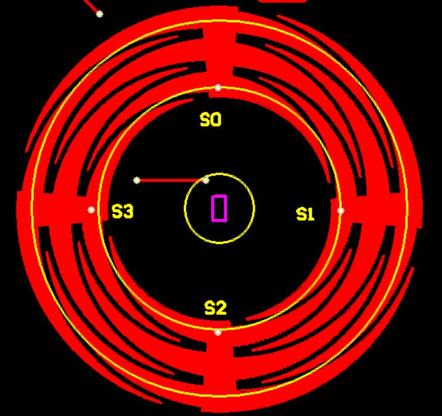 JR9011感应转圈IC