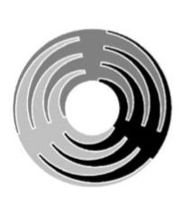 JR9011电容式触摸划条+转圈芯片