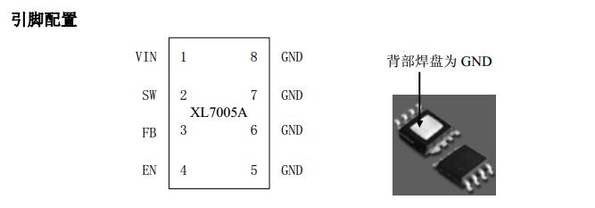 xl7005ae1_80v电源ic,80v降压电源ic,80v电动车电源ic,车载电源ic